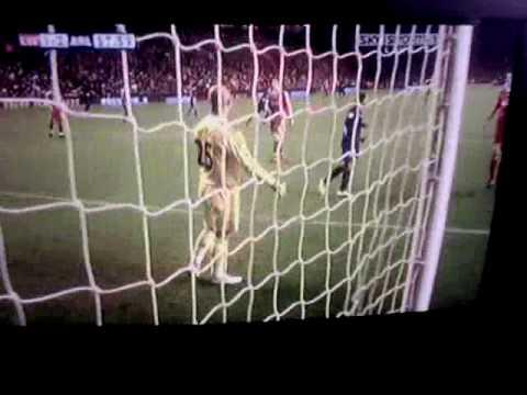 Andrey Arshavin Liverpool 1 Arsenal 2