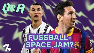 Messi, Ronaldo & Mbappé! Wer verteidigt die Welt gegen Fussball-Aliens? OneFootball Q&A