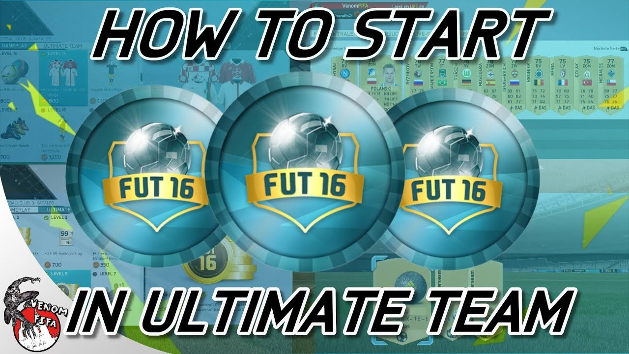 Fifa 16 How To Start In Ultimate Team Münzen Boost Trikots