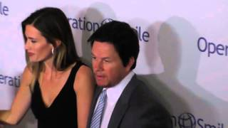 Mark Wahlberg, Ella Rae Wahlberg and Rhea Durham at the Operation Smile's 2015 Smile Gala at The Bev