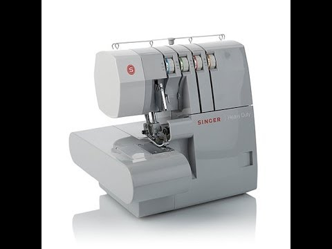 Singer 40 Thread HeavyDuty Overlock Serger YouTube Extraordinary Overlock Sewing Machine Singer