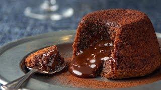 Шоколадный фондан - рецепт от Гордона Рамзи
