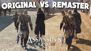 Assassins Creed 3 Remastered vs Original Comparison (AC3)