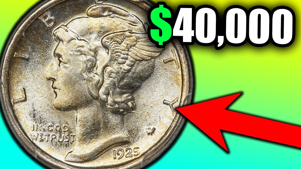 Silver Mercury Dimes Sell at Auction for Thousands of Dollars!