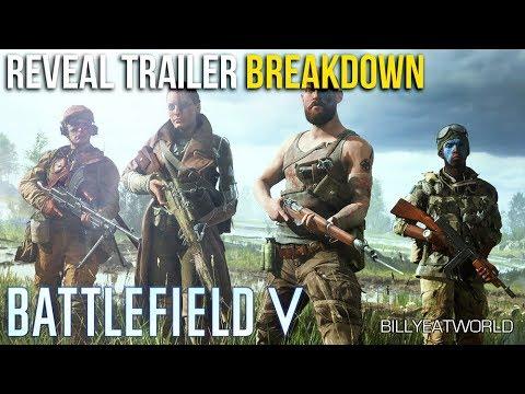 BATTLEFIELD V - Reveal TRAILER BREAKDOWN & Analysis (Behind The Scenes Reveal Info)
