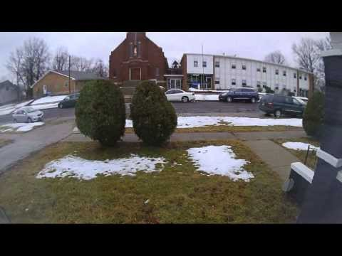 Timelapse of snow melting in Kirksville, Missouri