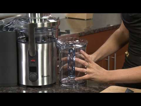 Out of the Box: Breville ikon Multi-Speed Juice Fountain BJE510XL