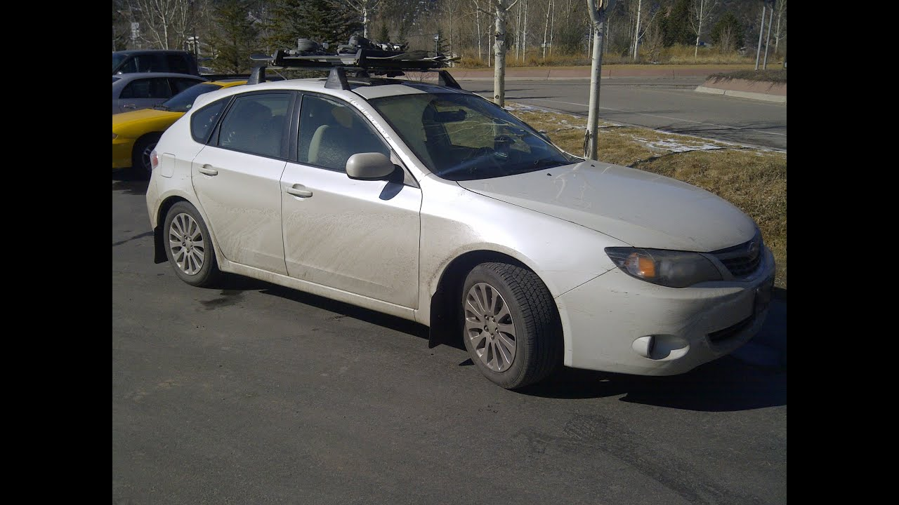 2013 Subaru Impreza Wrx Hatchback >> 2009 Subaru Impreza 2.5i - Walk around, quick tour, start up, engine - YouTube