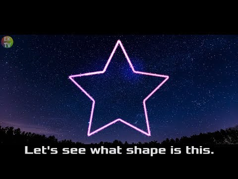 Guess Shape Game (Meteor in Starry) - Learn Shapes for KIds |