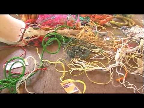 Found Objects Weaving Workshop - 2012
