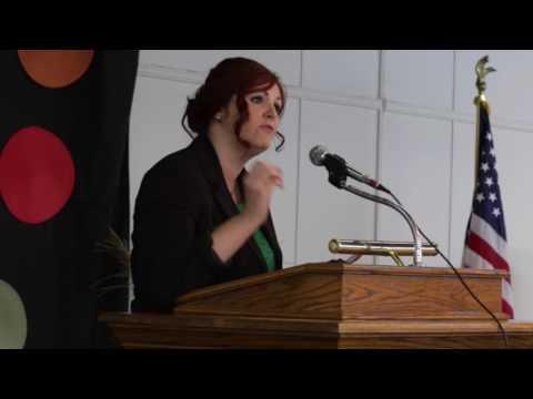 Sharon Kay Edwards at the Johnny Majors Democratic Rally