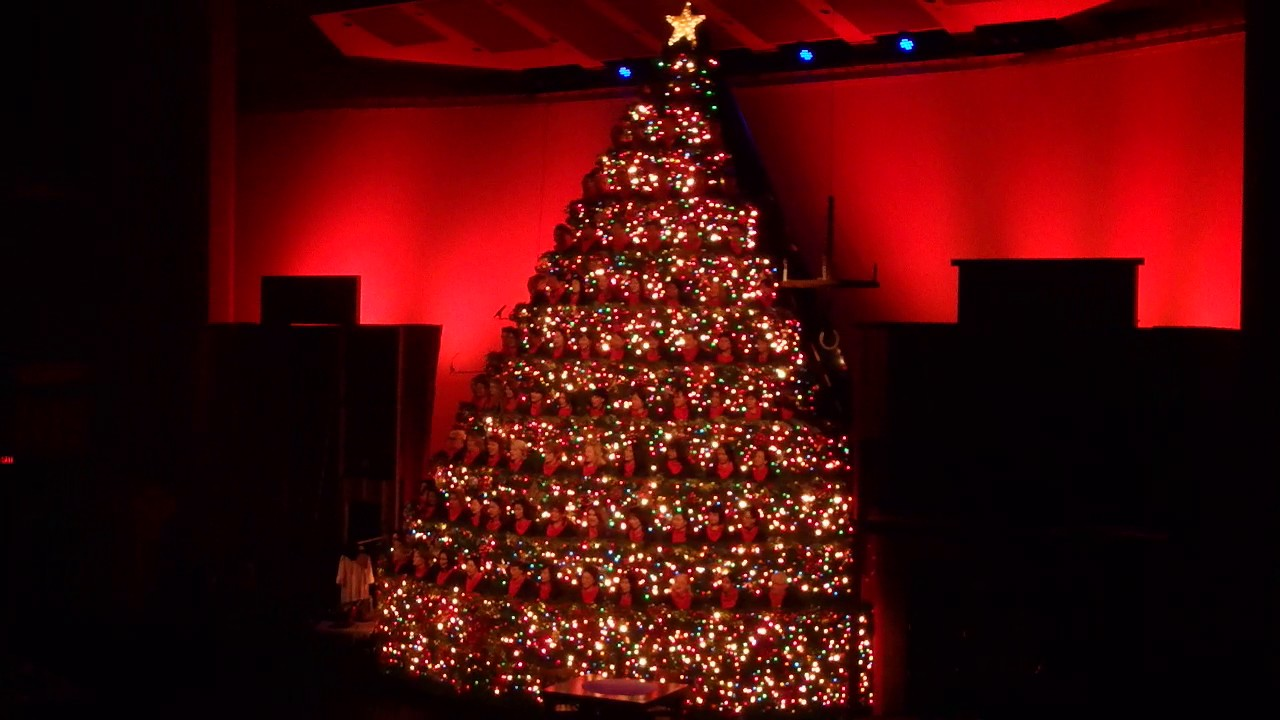 49th Singing Christmas Tree @ Broadway