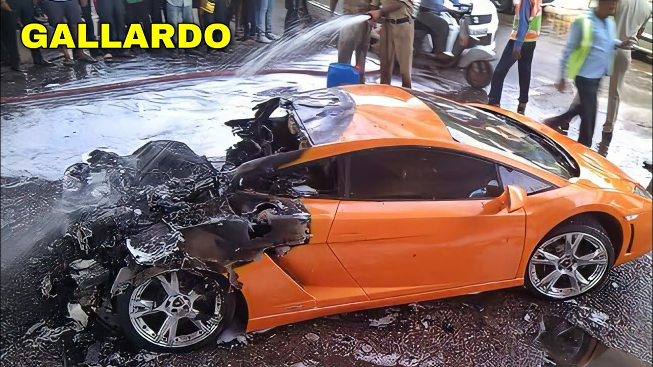 TOP 15: SUPERCAR Crashes in INDIA ! ! ! (Part 5)