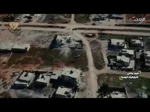 سوريا .. شاهد دبابة تركية تقودها فصائل سورية تطارد دبابة للنظام في ريف إدلب