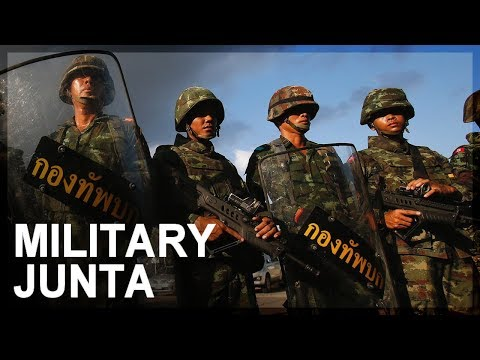 History of Thailand's military junta