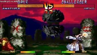 [HD] - Fightcade - Samurai Shodown 3 - Hara96(JPN) Vs Ak9900(JPN)