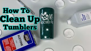 How to Finish a Tumbler after Epoxy   DIY Epoxy Tumbler Series Start to Finish   Episode 5