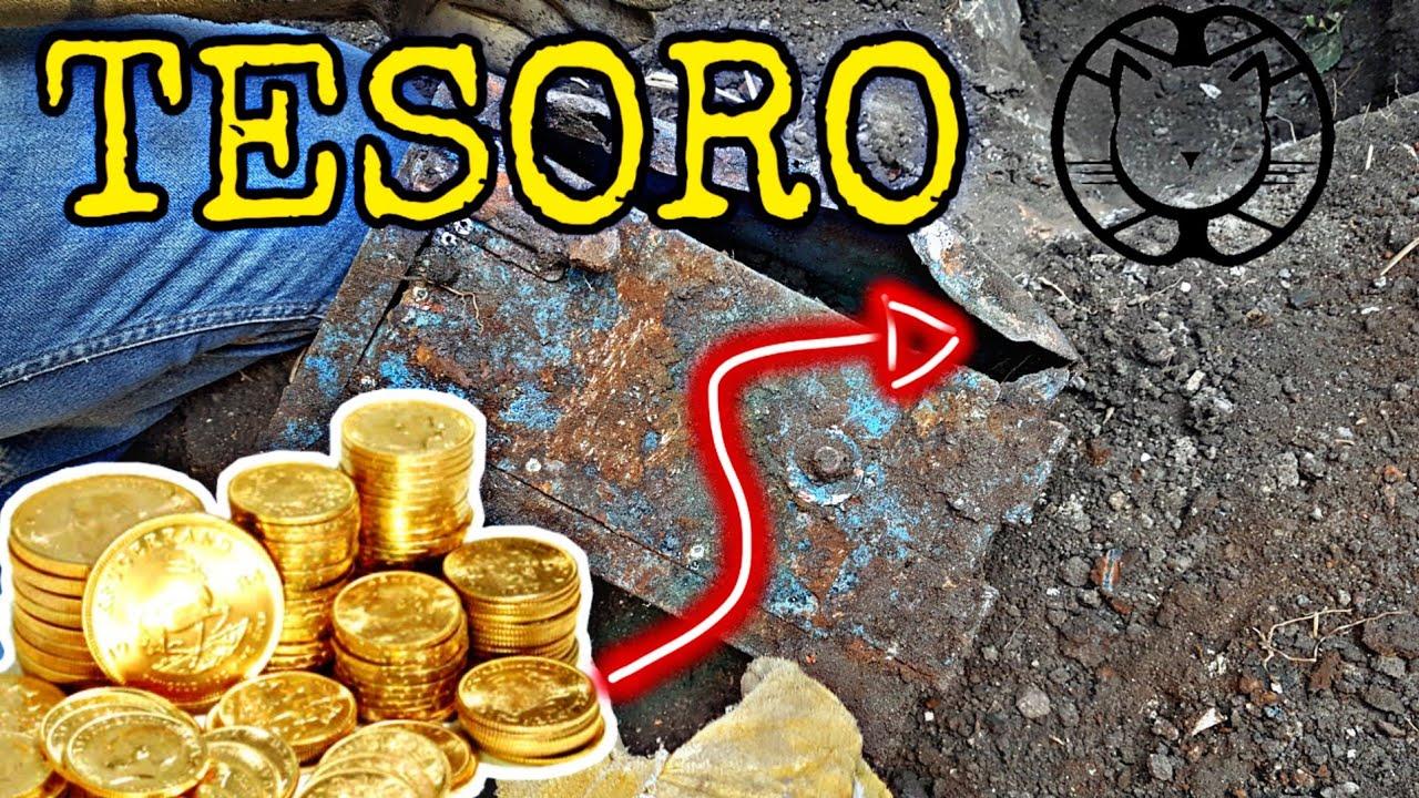 Buscando Tesoros Caja Fuerte Con Monedas De Plata Youtube