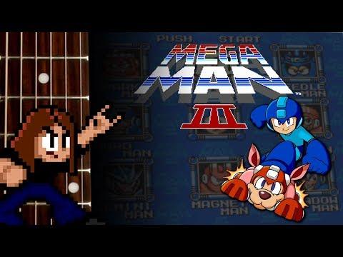 Mega Man 3 Guitar Playthrough 2016 [COMPLETE] [60 FPS]
