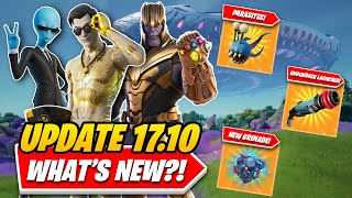 Fortnite Update 17.10: EVERYTHING You NEED TO KNOW In UNDER 5 MINUTES! (New Weapons, POIs & More!)