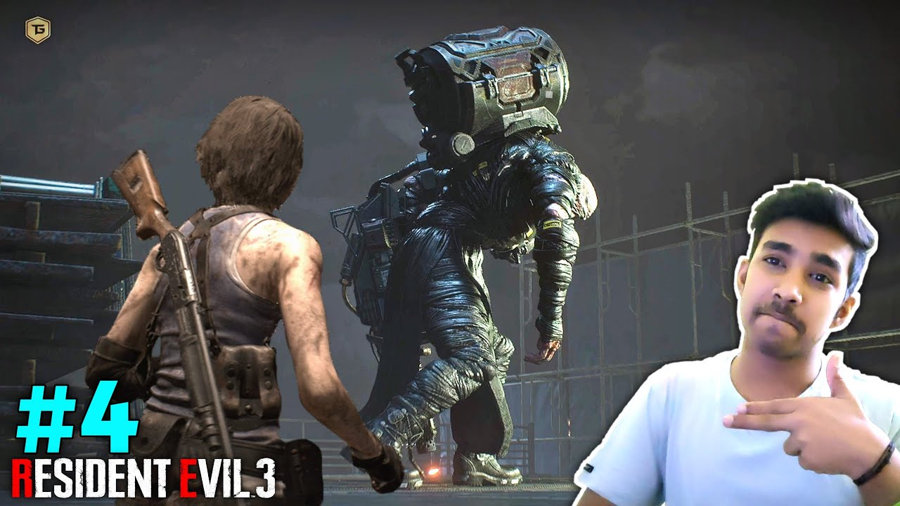 TIME TO KILL THIS MONSTER | RESIDENT EVIL 3 GAMEPLAY #4