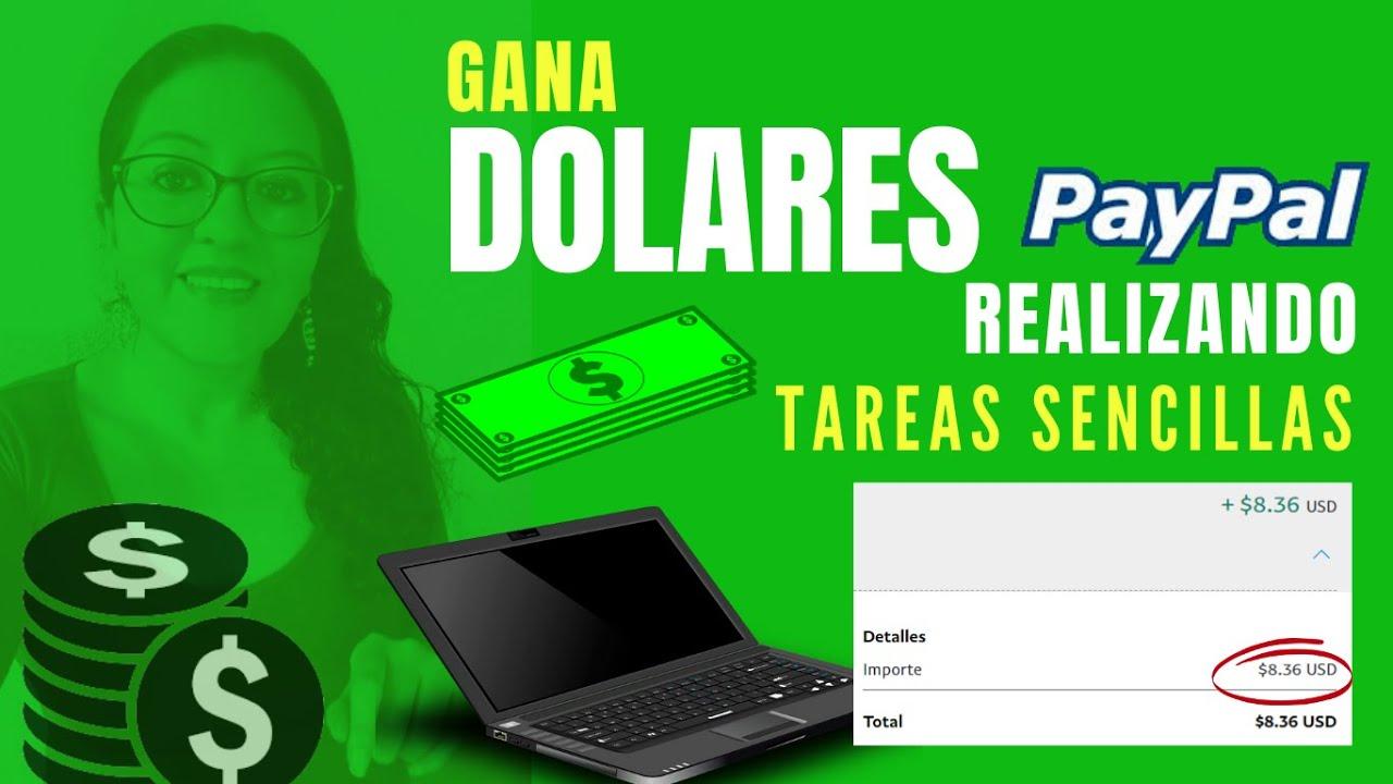 💰GANA DOLARES A PAYPAL TRABAJANDO EN INTERNET SIN INVERSIÓN l RETIRA DESDE $1 DOLAR