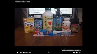 iHerb.Часть2.Детские БАДы:пробиотик,витамины для подростка,кальций,норвежск омега,шампунь,эл щётка