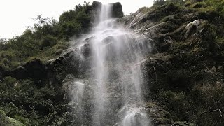 Bhewma Waterfall In North Sikkim India