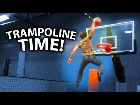 Slamball & Dodgeball @ Sky Zone Trampoline Park