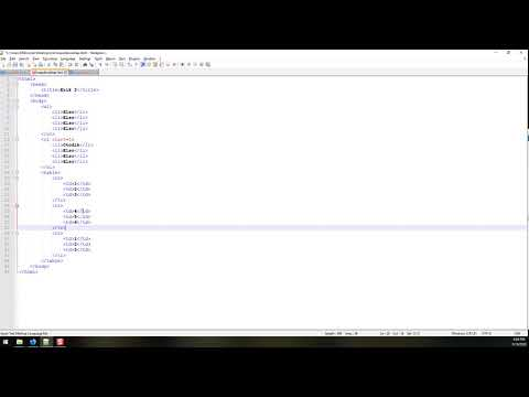 HTML - Kezdoknek 08 (tablazatok)