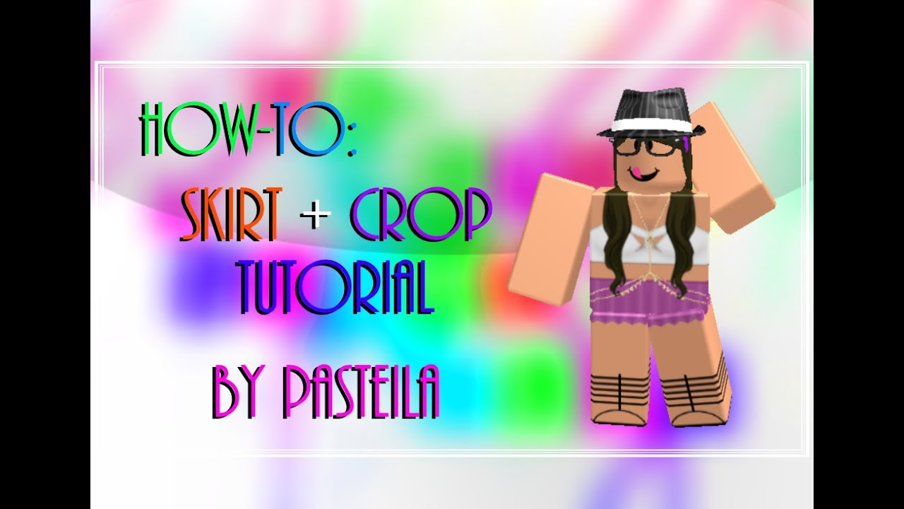How-To Design Skirt and Top - ROBLOX - YouTube