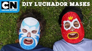 DIY Luchador Masks | Victor and Valentino | Cartoon Network