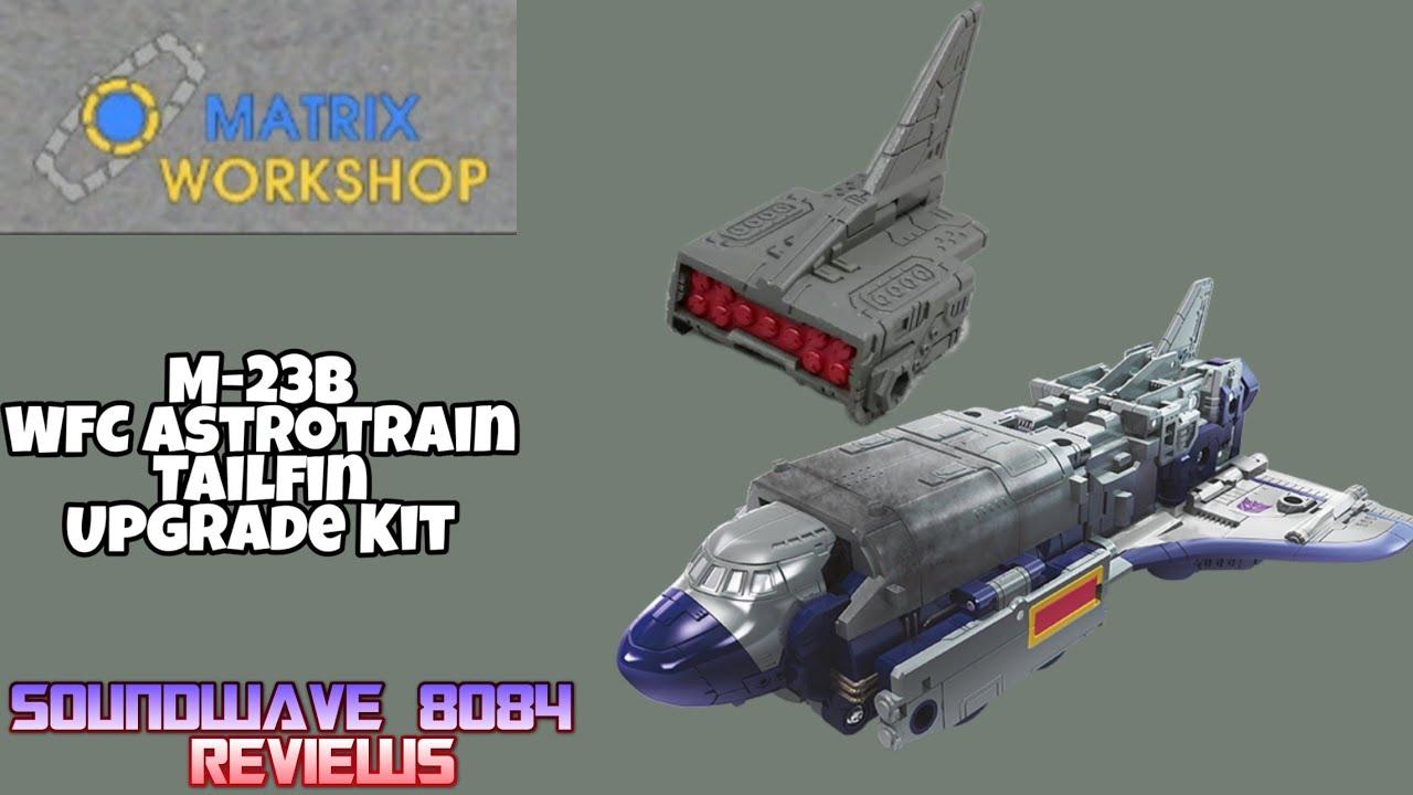 Matrix Workshop M-23B Siege Astrotrain Tailfin Upgrade Review By Soundwave 8084
