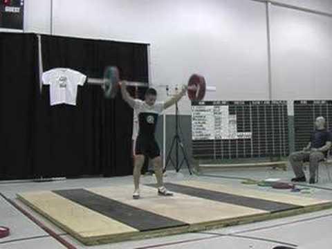 Bryan Marshall 115kg Snatch