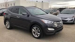 2015 Hyundai Santa Fe Limited   Stock # 8SF5228A  Sherwood Park Hyundai