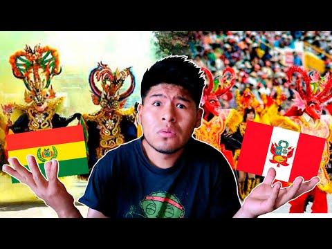 Diablada BOLIVIANA vs Diablada PERUANA