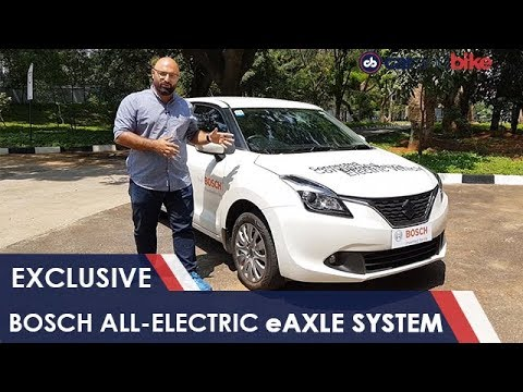 EXCLUSIVE: Bosch All-Electric Solution: eAxle System | NDTV carandbike