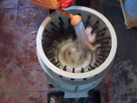 Механическая Насадка для ощипывания, снятия пера дикой птицы .