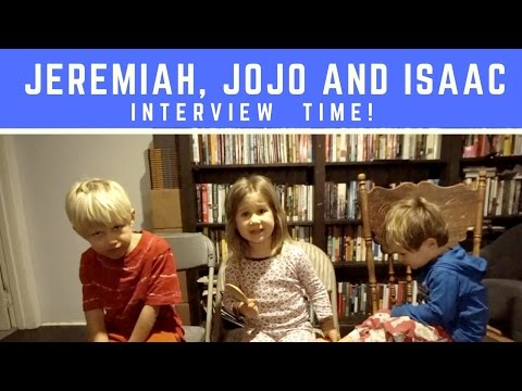 Interview with JoJo Isaac and Jeremiah!