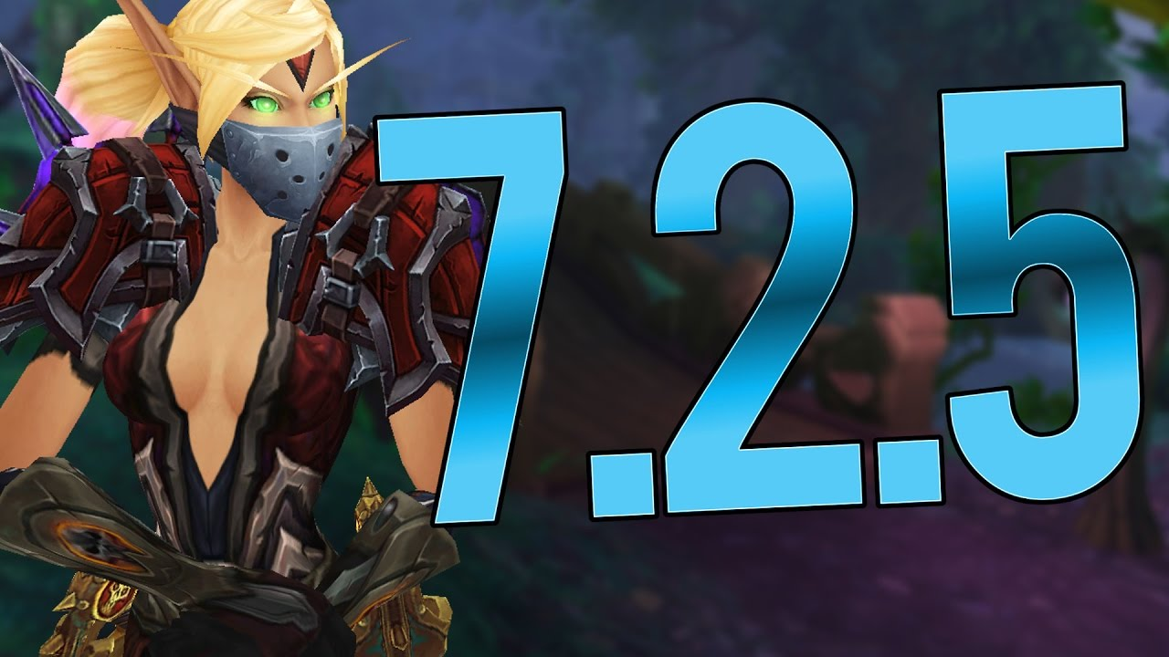 MAJOR ROGUE CHANGES IN 7 2 5 - Outlaw Rogue PvP WoW Legion 7 1 5