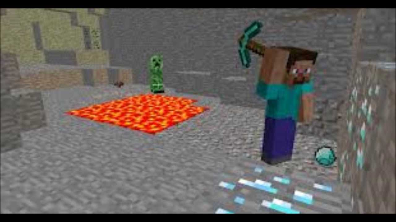 Diamonds In The Deep A Minecraft Parody Of Adele Rolling
