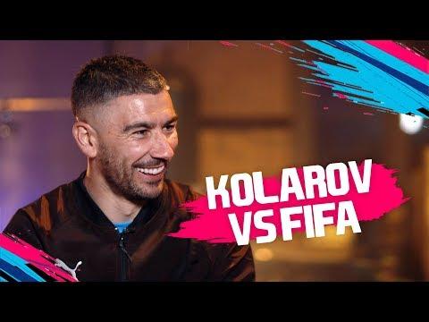 Does Kolarov have a more powerful shot than Cristiano Ronaldo? | Aleksandar Kolarov vs FIFA 19 🔥