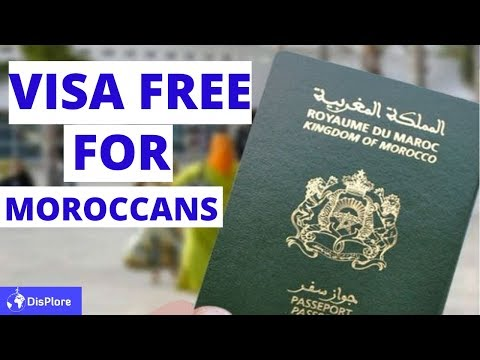 Visa Free Countries For Moroccan Passport Holders 2020
