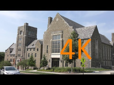 A 4K Tour of Cornell University