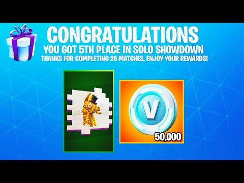 i won Solo Showdown.. then THIS happened!! (Solo Showdown Rewards)