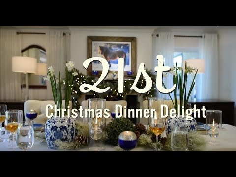 Holiday Decorating Ideas | Christmas Dinner Table  | 21