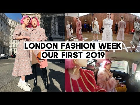 Our First London Fashion Week Autumn Winter 2019 | Skin Library x Q2HAN