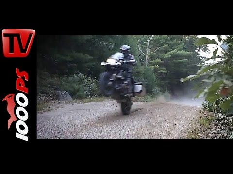 Offroad-Action | BMW R1200GS | SW MOTECH- Jumps, Drifts and Wheelies