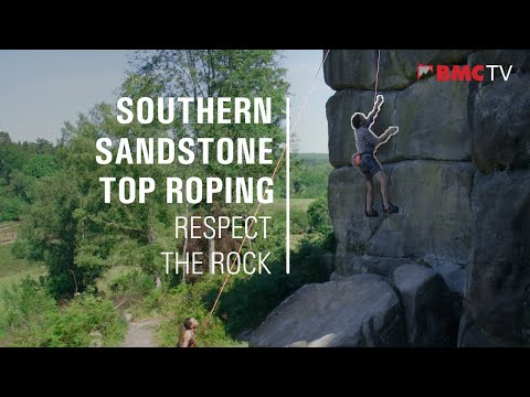 Southern Sandstone Top Roping - Respect the Rock