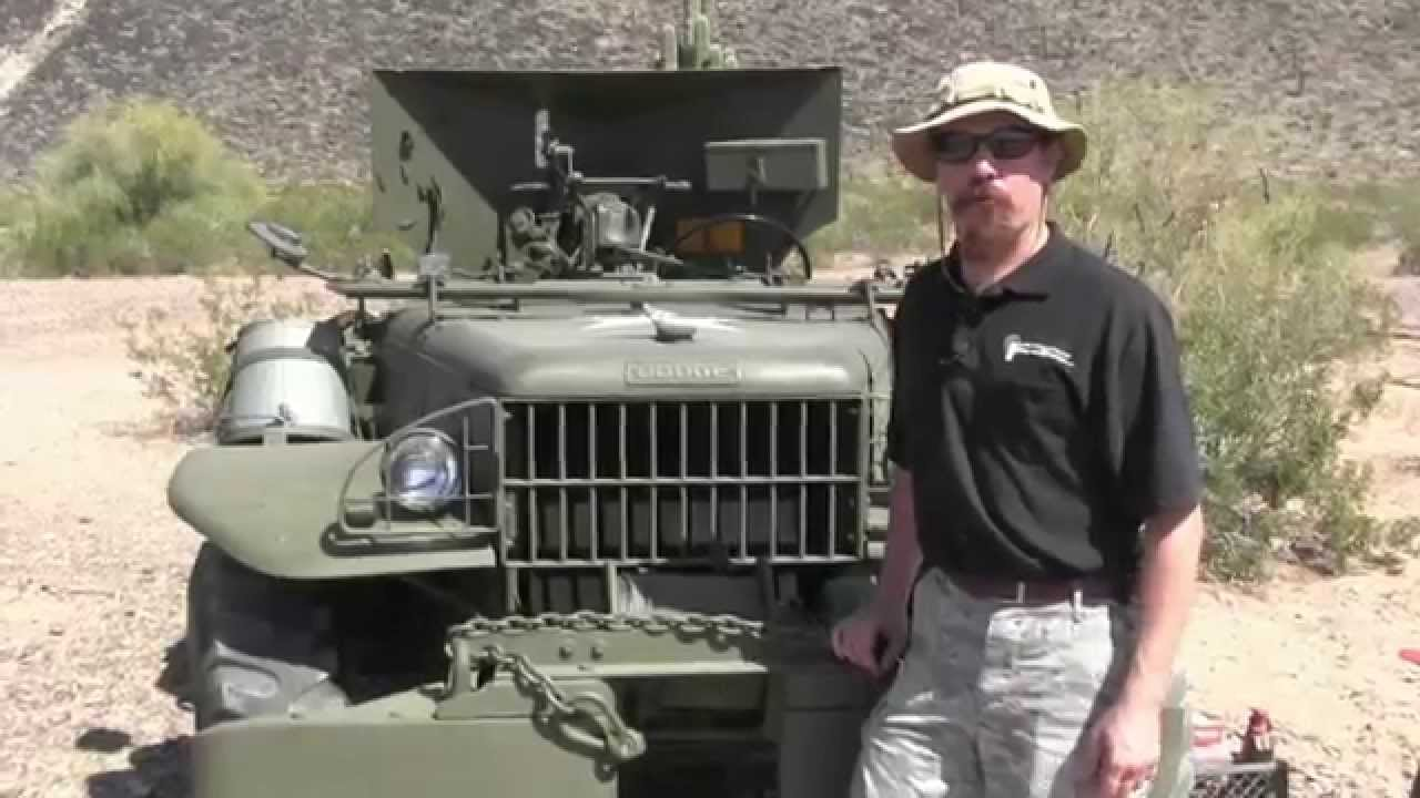 37mm Antitank Gun on a Dodge Weapons Carrier - M6